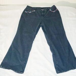 Ruby Rd. Women's Dark Wash Jean's
